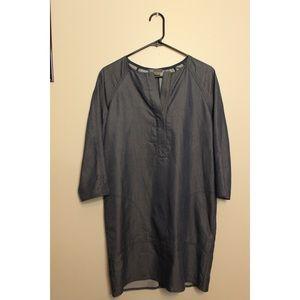 Vince blue-grey dress